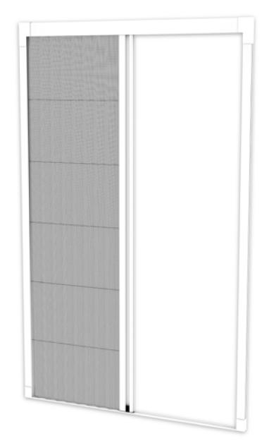 moustiquaire effe pleat22l ouverture lat rale pliss r seau pour les petits espaces. Black Bedroom Furniture Sets. Home Design Ideas
