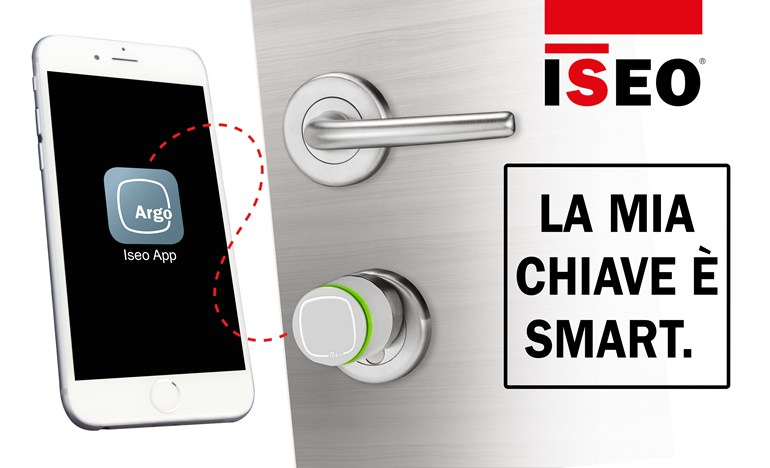 Iseo argon smartphone cylindre app