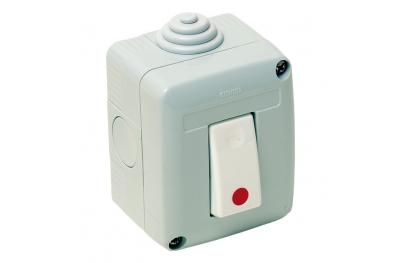 05115 Poussoir de Déblocage / Reset pour Anti-Incendie Monozone Conformité EN5
