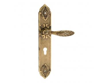 1060/1010 Qureshi classe poignée de porte sur la plaque Frosio Bortolo pour les bâtiments historiques