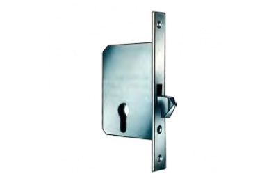 1222 serrure pour portes coulissantes avec crochet effeff