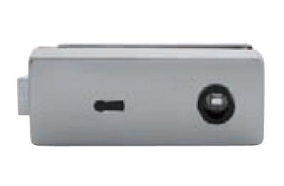 Serrure pour verre TROPEX avec clé 165x65mm Trou TROPEX