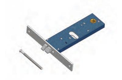 Omec verrou serrure électrique dans la gamme pour l'aluminium