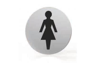 Pictogramme pour buse de bain WC rond femmes TROPEX