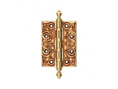 Charnière de porte en bois CE 1270 baroque et raffinée, ligne Calì avec décorations de luxe