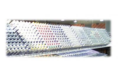 Exposant Stilo Retouche pour l'aluminium support en plastique avec EP Vit