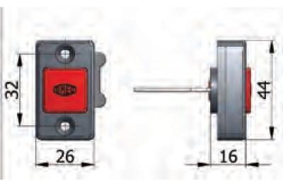 Bouton mécanicien Journée d'ouverture Omec à Fermo avec des vis de verrouillage électriques