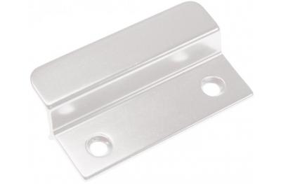 Petite poignée en aluminium blanc pour portes françaises extérieure HEICKO Segatori