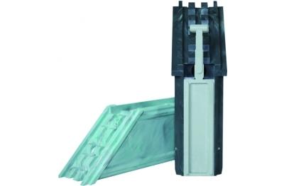 Couplage refermable angulaire PVC HEICKO Segatori