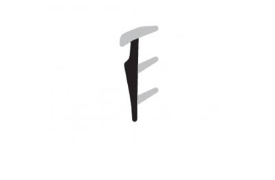 Joint de vitrage Complastex Epaisseur 2.5mm Thin Box Coil 200m