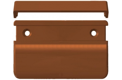 Poignée carrée pour les portes françaises extérieure 70x50x12 HEICKO Segatori