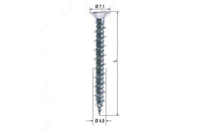Vis de rechange pour le matériel Divers Dimensions 1000 pcs HEICKO