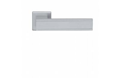 Paire de poignées Ghidini Modèle Silver Frame F1-SAT Rosette et évents