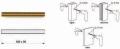 Kit de fixation TROPEX 05 pour paire de poignées