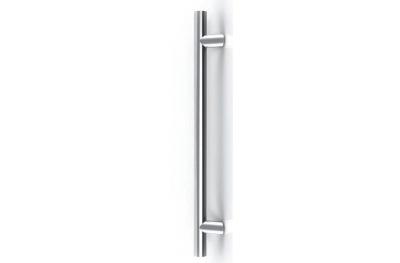 Poignée Francfort TROPEX supports en acier Empattement 300mm Ø 25mm Lean