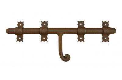 1890 Horizontal boulon GALBUSERA Fer forgé différentes tailles