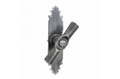 2122 Poignée cylindrique Marteau en fer forgé Fenêtre Lorenz Ferart