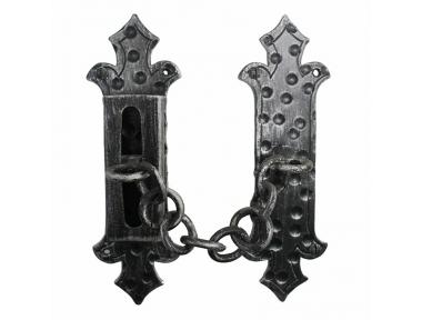 2156 Sécurité Artisan Portes chaîne en fer forgé Lorenz Ferart