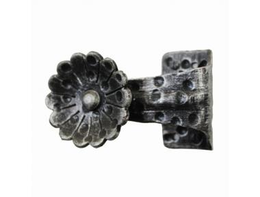 2262 Bouton avec fleur Portes en fer forgé pour Lorenz Ferart