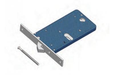 Crochet de verrouillage OMEC Mécanique Band aluminium