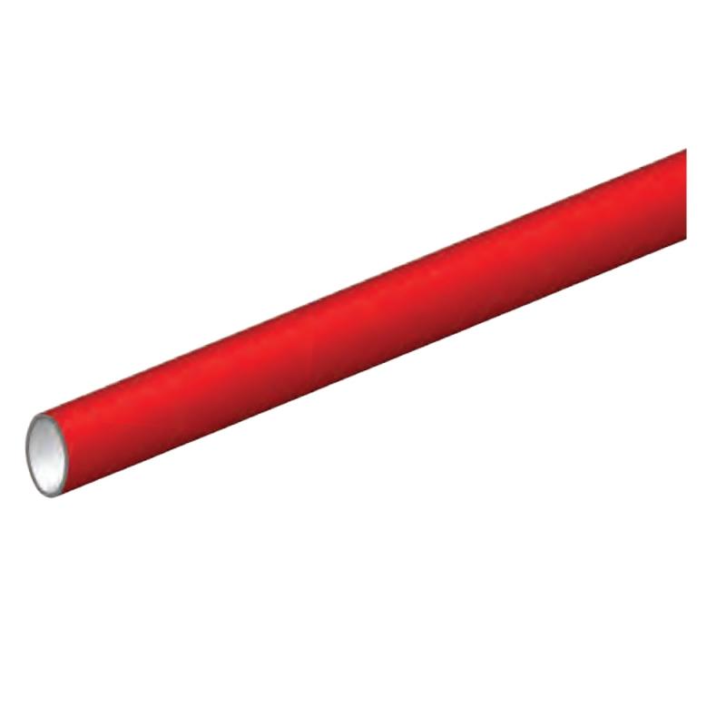 Art.6005 AR Omec, barre horizontale rouge pour Panic Poignées Série 6210