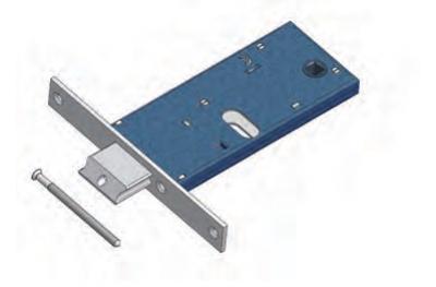 Verrou réglable Omec avec la gamme de verrouillage du Mandat pour la Mécanique Aluminium
