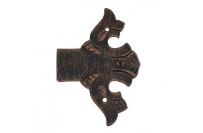 3009 fine décorative charnière pour portes et meubles en fer forgé Lorenz Ferart