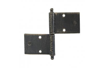 3059 Double charnière pour portes et meubles en fer forgé Lorenz Ferart