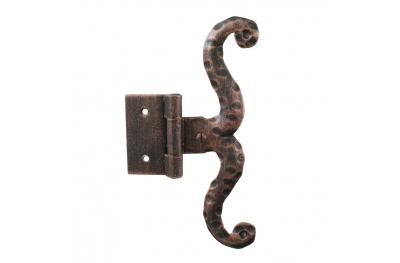 3060 charnière simple pour les portes et les meubles en fer forgé Lorenz Ferart