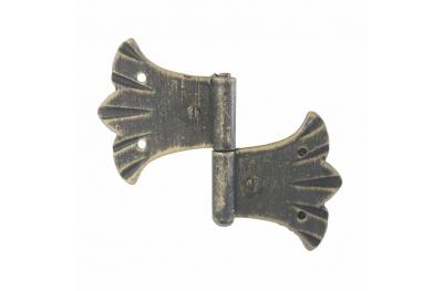 3062 Double charnière pour portes et meubles en fer forgé Lorenz Ferart