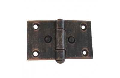 3073 Double charnière pour portes et meubles en fer forgé Lorenz Ferart