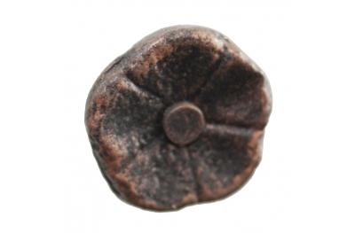 3184 Bouton en forme de fleur en fer forgé Meubles pour Lorenz Ferart