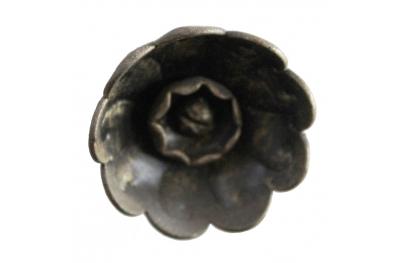 3218 Bouton Fleur Rosette en fer forgé Meubles pour Lorenz Ferart