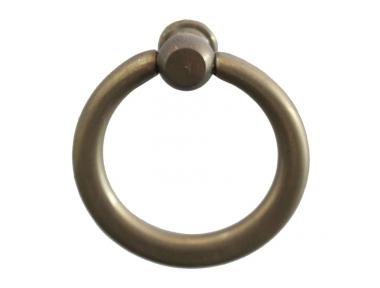 3260 Poignée anneau lisse en fer forgé Meubles pour Lorenz Ferart