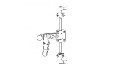 Tit JO poignée standard 1-2 Ante Griffe h = 15mm Sans Enchères