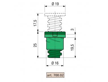 Spacer Proni Couché série Fenêtre 800