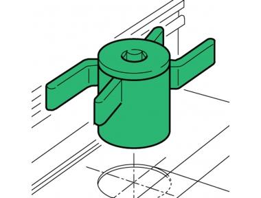 Spacer Proni Rapid-Block Series 50 Fenêtre d'installation