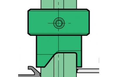 Lamatore Proni Rapid-Block porte en Aluminium et PVC