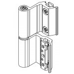 Charnière à culot CE Art.00128U Giesse; Chambre européenne pour l'aluminium