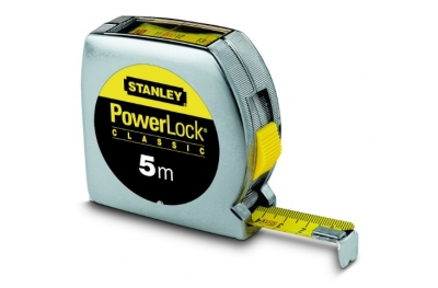 Stanley Powerlock bande outil lecture directe 5m