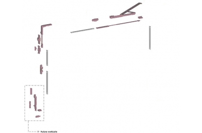 Ribantatre Groupe Savio de base R bras standard Fulcrum Vertical