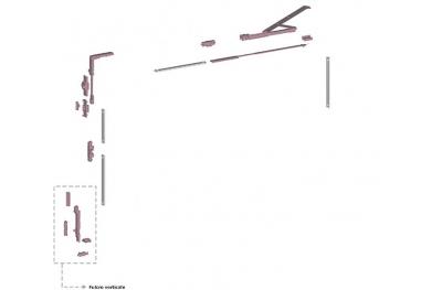 Ribantatre Groupe Savio de base R Bras Pivot court Vertical