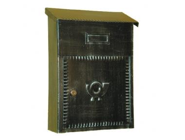 6010 Lettres Porta Craft en fer forgé pour les enveloppes et journaux Lorenz