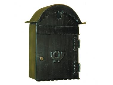 6012 Lettres Porta avec toit courbé Craft en fer forgé pour les sacs Lorenz