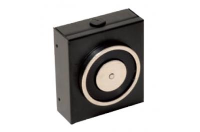 Retenteur Electromagnetique Noir 140 Kg Sans Bouton de Déblocage 18100 Opera