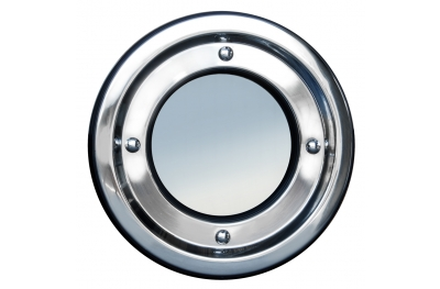 Hublot métal ronds en acier inoxydable fixe Tenuta Colombo 18/8 AISI 304