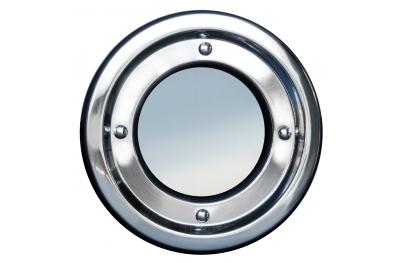 Hublot métal ronds en acier inoxydable fixe Tenuta Colombo 18/8 316