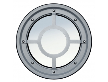Rambarde métallique hublot acier inox AISI 304 de type B Raised