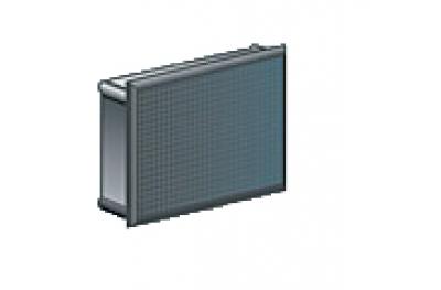 Connecteur rectangulaire Médaille nylon noir Paquet de 100 pièces différentes tailles