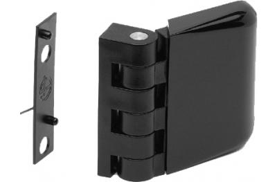 Charnière 48mm 1mm d'épaisseur Complanare fenêtre de clôture médias ESINPLAST